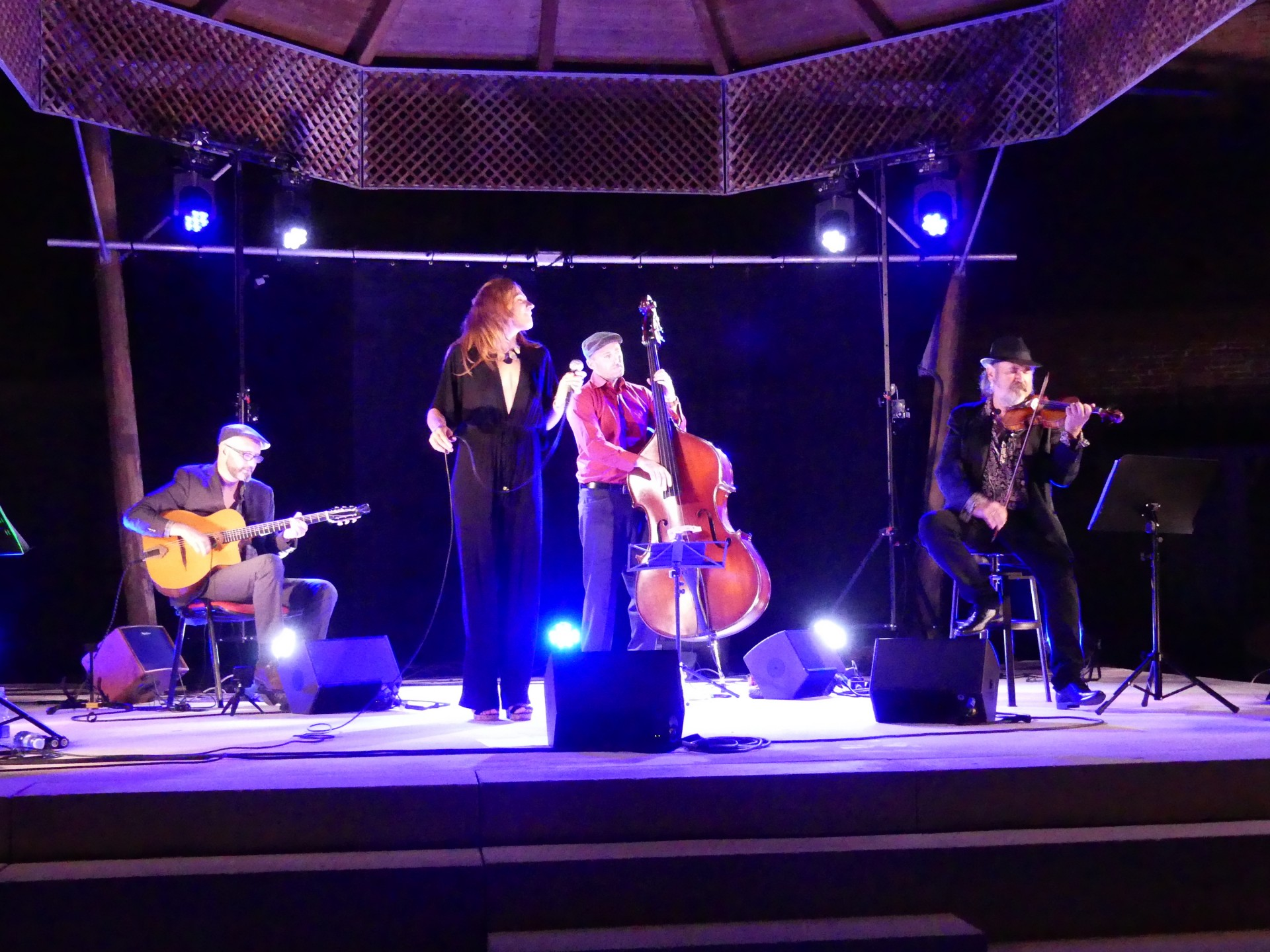Photo groupe live